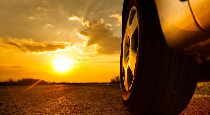 Neumáticos y verano
